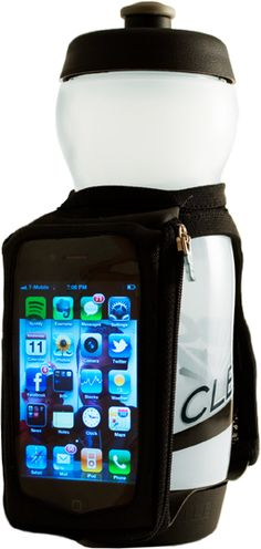 For carrying my iPhone while trail running.