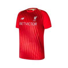 9c12f8b96 New Balance Liverpool Training Matchday jersey - 100% polyester wicking  interlock with sub print design
