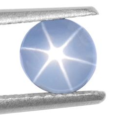 1.67 Cts Natural Amazing Blue Star Sapphire Round Cabochon Unheated Video Burma #Unbranded