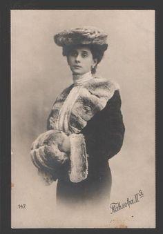 Anna Pavlova, ca. 1905.
