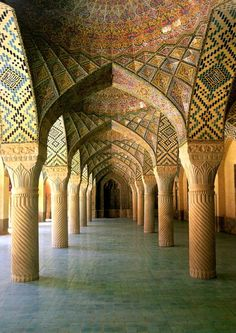 nasir al molk moskee  http://iranclassictravel.nl #iran #persia #middleeast