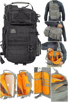 501b61f8dce2 Amazon.com : Vanquest JAVELIN 2.0 VSlinger Left-Shoulder Slingpack (Black)  : Vanquest Sling Bag : Sports & Outdoors