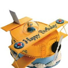 Cake idea for airplane party