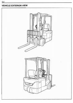 Toyota Electric Truck 6BWC10, 6BWC15, 6BWC20, 6BWS11 ...