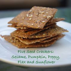Within the Kitchen: Five seed cracker recipe