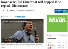 """""""His voice quavering with emotion, Mike Valde told Sen. Ted Cruz (R-Tex.) about his brother-in-law: He was a barber who couldn't afford health care until the Affordable Care Act, and after getting coverage he went to the doctor for the first time in years, and was diagnosed with multiple tumors. He died soon after."""" (click through to read more) #obamacare"""