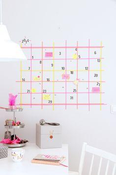 93Fun Ways To Organize With Washi Tape