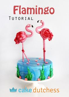FREE Flamingo Tutorial with every order!