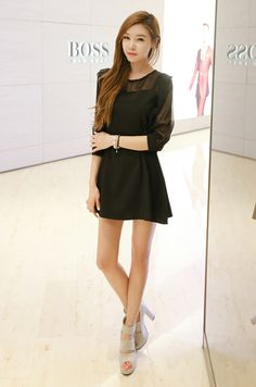 Fabulous STAR style :) Just cannot have enough LBD's
