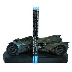 DC Comics Batman Arkham Knight Batmobile Bookends
