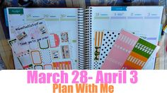 Plan With Me March 28-April 3!