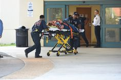 Shooting victims are unloaded from an emergency vehicle and taken into Broward Health Trauma Center Friday, Jan. 6, 2017 in Fort Lauderdale, Fla. Authorities said multiple people have died after a lone suspect opened fire at the Ft. Lauderdale-Hollywood International Airport. (Taimy Alvarez/South Florida Sun-Sentinel/TNS via Getty Images) via @AOL_Lifestyle Read more…