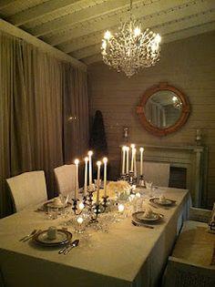 veranda dinners..