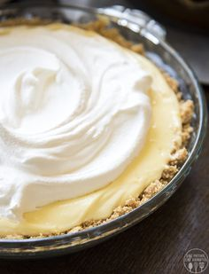 This banana cream pie is a perfect and easy pie to make for thanksgiving or any time you want a slice of delicious pie!