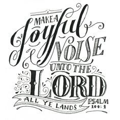 Psalm 100 coloring pages - Google Search