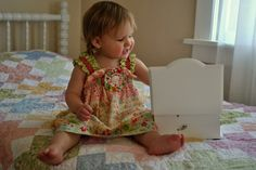 Candy Girl Tiered Dress | YouCanMakeThis.com