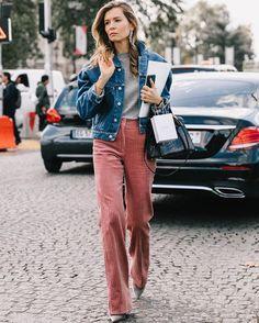 a41adcd5b4e24 Velours côtelé   le grand retour • Les Bons Détails Mode Femme, Pantalon  Velours,