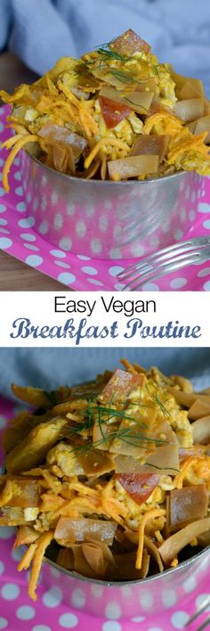 Vegan Breakfast Poutine Recipe