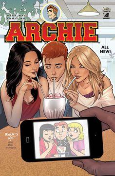 Archie #4 Variant Cover •Paul Renaud