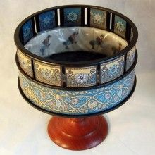 and silent film showings with a Luxury Zoetrope. An early cinematic device. Persistence Of Vision, Antique Toys, Old Toys, Brand You, Diy Tutorial, Dog Bowls, Inventions, Serving Bowls, Decorative Bowls