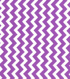 Quilter's Showcase Cotton Fabric-Chevron Amethyst/White