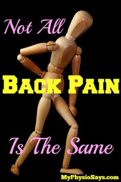 "I see a lot of articles on the internet claiming to have ""the best exercises for back pain relief"".  This can be misleading, although it's a great catchy title that's defini…"