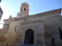 monzón: portada catedral ntra. sra. del romeral