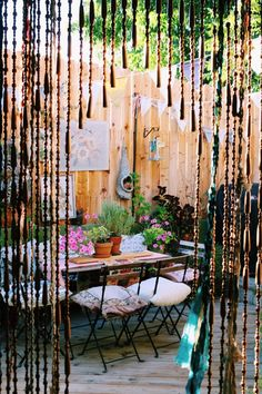 to the Gypsy Caravan Dream Home :: Beach Boho Chic :: Living Space :: Interior + Outdoor :: Decor + Design :: Free your Wild :: See more Bohemian Home Style Inspiration On Dream On may refer to: Patio Interior, Interior Exterior, Interior Ideas, Interior Office, Interior Design, Boho Diy, Bohemian Decor, Bohemian Style, Bohemian Patio