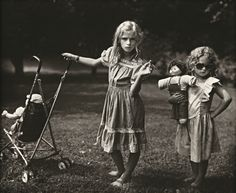 Sally Mann, The New Mothers, 1989.