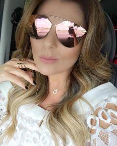 Dior Reflected Pixel ❤️ Amamos o efeito prisma das lentes !! @danilaguimaraes #oticaswanny