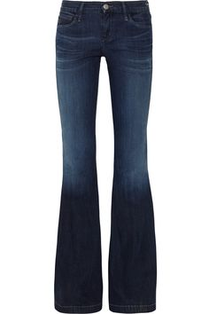 Goldsign - Virginia Low-rise Flared Jeans $300 - Because I look really stupid in skinny jeans ;)
