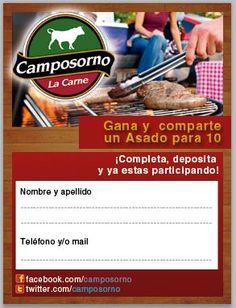 Cupón campaña asado para 10 CAMPOSORNO
