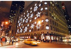 Saks Fifth Avenue!  This heritage department store put 5th Avenue on the map.  I love the whole area surrounding Saks...Rockefeller Center, Radio City and NBC studios.  A power epicenter!
