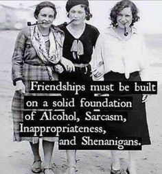 Here we celebrate all women the share the importance of friendship