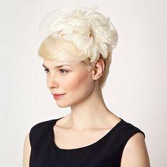 8215b5647c7 Star by Julien Macdonald Designer cream feather corsage headband- at  Debenhams Mobile