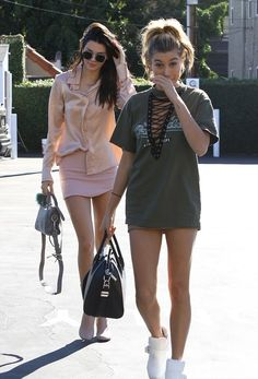 Kardashian/Jenner Blog — November 21st, 2015 - Kendall and Hailey out in...