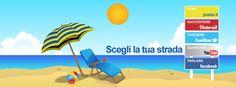 Entra in dialogo con Poste Italiane. Seguici sui profili ufficiali per comunicare con noi e per essere informato su iniziative e novità.