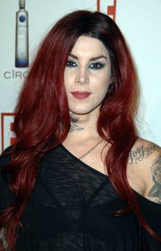 Kat Von D Red Hair Color