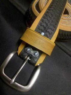 Extra Prima  recycled rubber belt Ceinture, Pneus Vélo, Recyclage, Ceintures,  Belt 23327380015