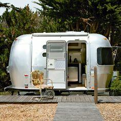 Mini Airstream trailer
