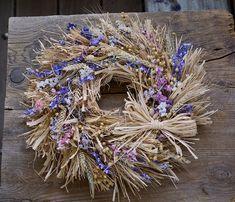 Natur decor, dried flowers wreath Dried Flowers, Wreaths, Fall, Home Decor, Autumn, Flower Preservation, Decoration Home, Door Wreaths, Fall Season