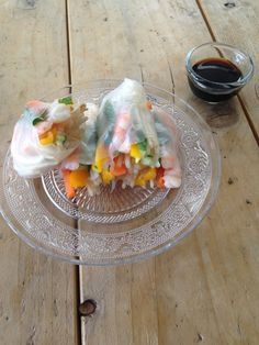 summer rolls - www. Rice Rolls, Food Inspiration, Healthy Recipes, Healthy Food, Healthy Lifestyle, Salads, Brunch, Breakfast, Ethnic Recipes