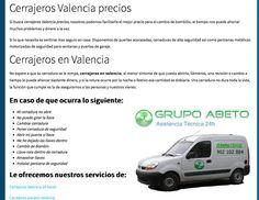 Cerrajeros valencia. Tlf. 628.576.904 Empresa de cerrajeros en valencia 24 horas urgente. http://www.cerrajerosvalencia628576904.com.es cerrajeros en valencia