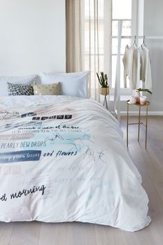 Bedding Bloomong Day - Pastel for your bedroom. Made in Netherlands.