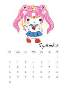 Free Printable 2018 Pop Culture Unicorn Calendar - The Cottage Market