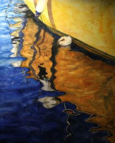 Water Reflections Watercolor Paintings (Chinh) by Chinh + Dzung Artwork , via Behance