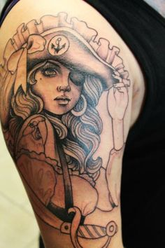 Pirate wench, need to get a pirate tattoo me