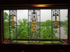 Taliesin- Prairie Style Windows