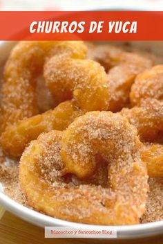 Churros, Onion Rings, Gluten Free Desserts, Empanadas, Sin Gluten, Paleo Recipes, Donuts, Sweet Tooth, Food And Drink