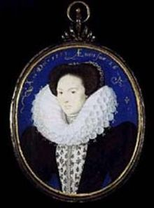 Emilia Lanier (1569–1645) was the first Englishwoman to assert herself as a professional poet through her single volume of poems, Salve Deus Rex Judaeorum (1611).  She was for several years the mistress of Henry Carey, 1st Baron Hunsdon, first cousin of Elizabeth I of England.